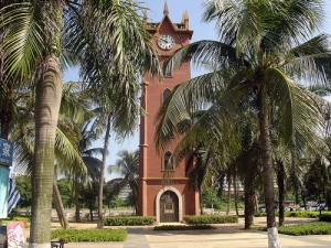 Haikou's Iconic Clock Tower